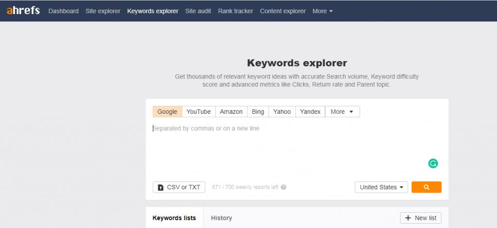 Ahrefs-keyword-generator